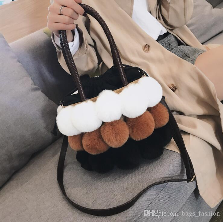 8bf92d9abd7a New Fashion Women S Clutches Bags Lady Mixed Faux Fur Clutch Handbags  Shoulder Bags Pouch Party Messenger Purse Colorful Bag Hobo Bags Ladies  Handbags From ...