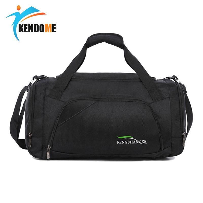 02434a32a4c8 2019 Women Sport Bag Training Gym Bag Men Black Waterproof Fitness Bags  Durable Multi Function Female Handbag Outdoor Tote Yoga From Portnice