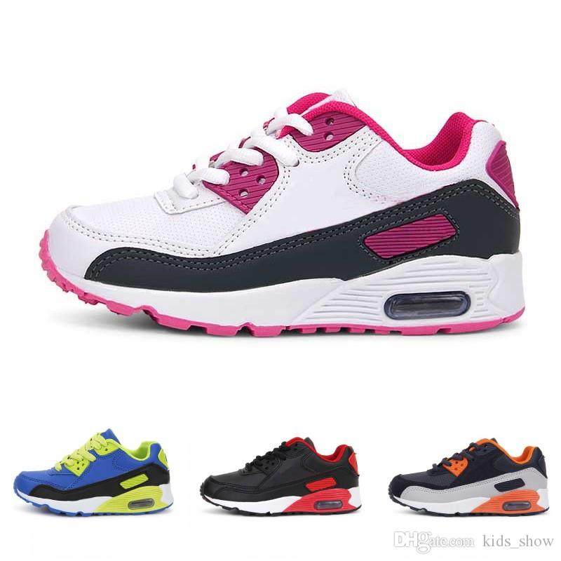 fc24d8e97bf Children Casual Sport Shoes Boys And Girls Sneakers Kids Fashion Running  Shoes Sofe Sole 4 Colors