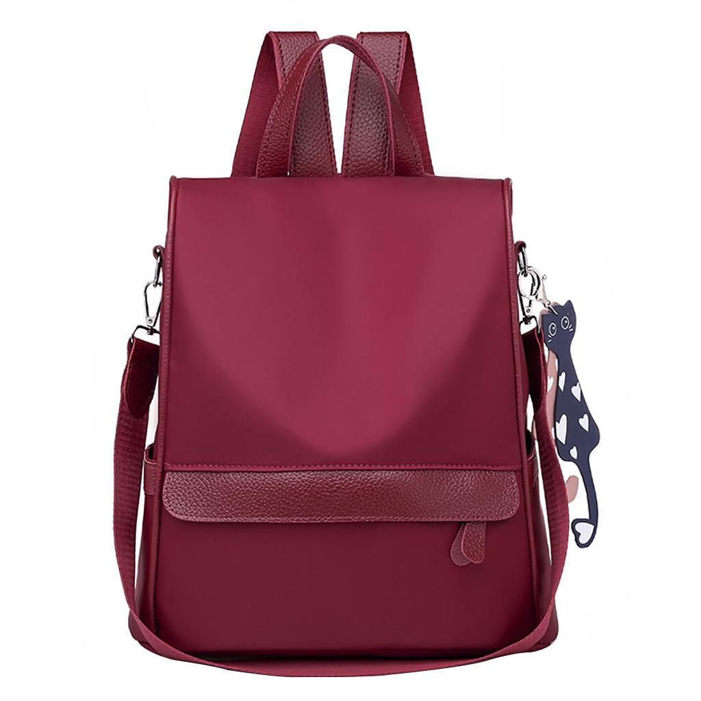 ed66bdd9c6e2 2019 New Fashion Women Oxford Casual Backpack Wild Travel Student Bag  Backpack Dropshipping Zaino Da Donna 30 Girls Backpacks Satchel Bags From  Clzone