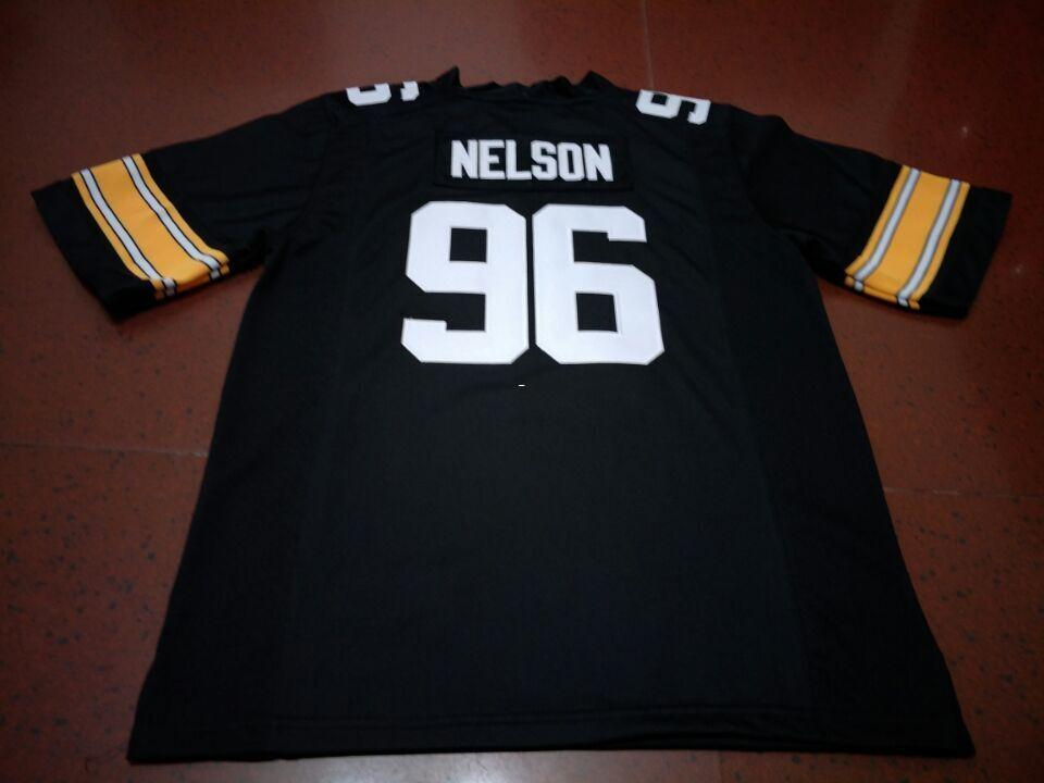 premium selection 00045 96f98 Cheap Men #96 Matt Nelson Iowa Hawkeyes Alumni College Jersey S-4XLor  custom any name or number jersey