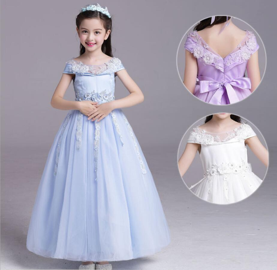 9b163664b1d2e Childrens evening gowns girl cinderella dress formal dress baby princess  dresses party dresses for teenagers cinderella costume