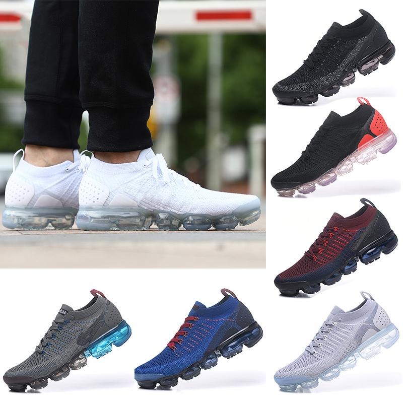High Quality New Vapersmmax 2.0 Men And Women Running Shoes Sneakers Sports Shoes Black White Running Shoes Without Box Eur 40-45