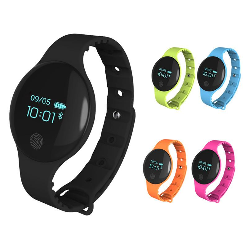 2018 H8 Outdoor-Fitness-wasserdicht Pedometer intelligente Sportuhr Schrittzähler Bluetooth Health Monitor Tracker Armband