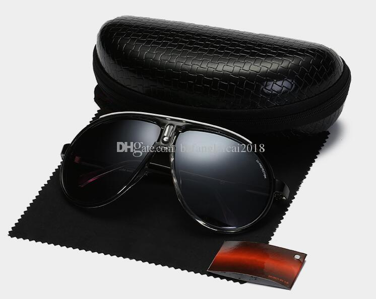 395332af195e 2019 High Quality CARRERA Designer Sunglasses For Men And Women Brand  Designer Vintage Sport Sun Glasses With Case And Box Round Sunglasses Cheap  Eyeglasses ...