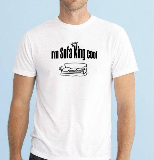 I M Sofa King Cool Men S Funny T Shirt Size S Xxl Great Birthday