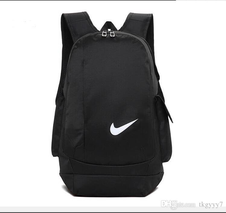 NIKE School Bags Casual Backpack Mens Zaino Womens Designer Mochila Sac À  Dos Riding Travel Bags Outdoor Waterproof Sports Backpacks Boys Backpacks  Laptop ... 64628adfd705c