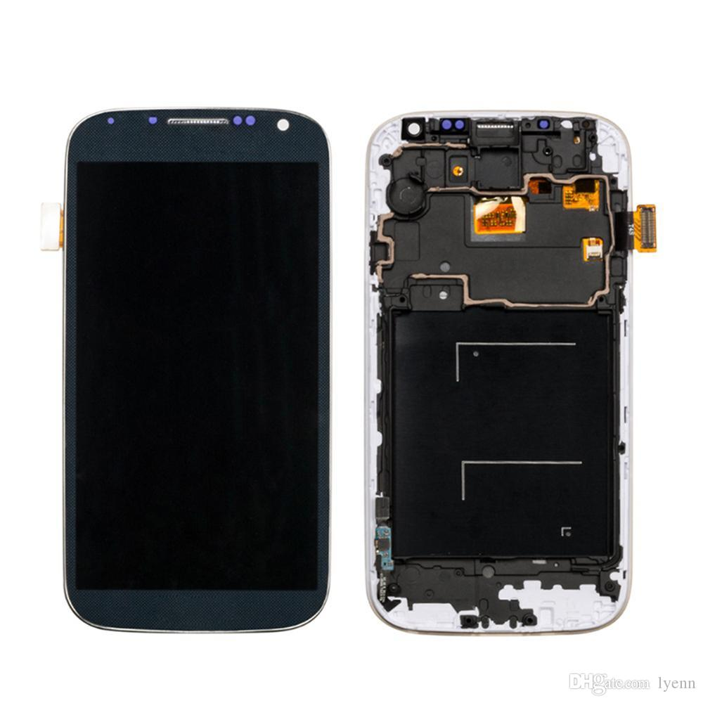 LCD For SAMSUNG Galaxy S4 LCD Display with Frame GT-i9505 i9500 i9505 i337 i9506 i9515 Touch Screen Digitizer