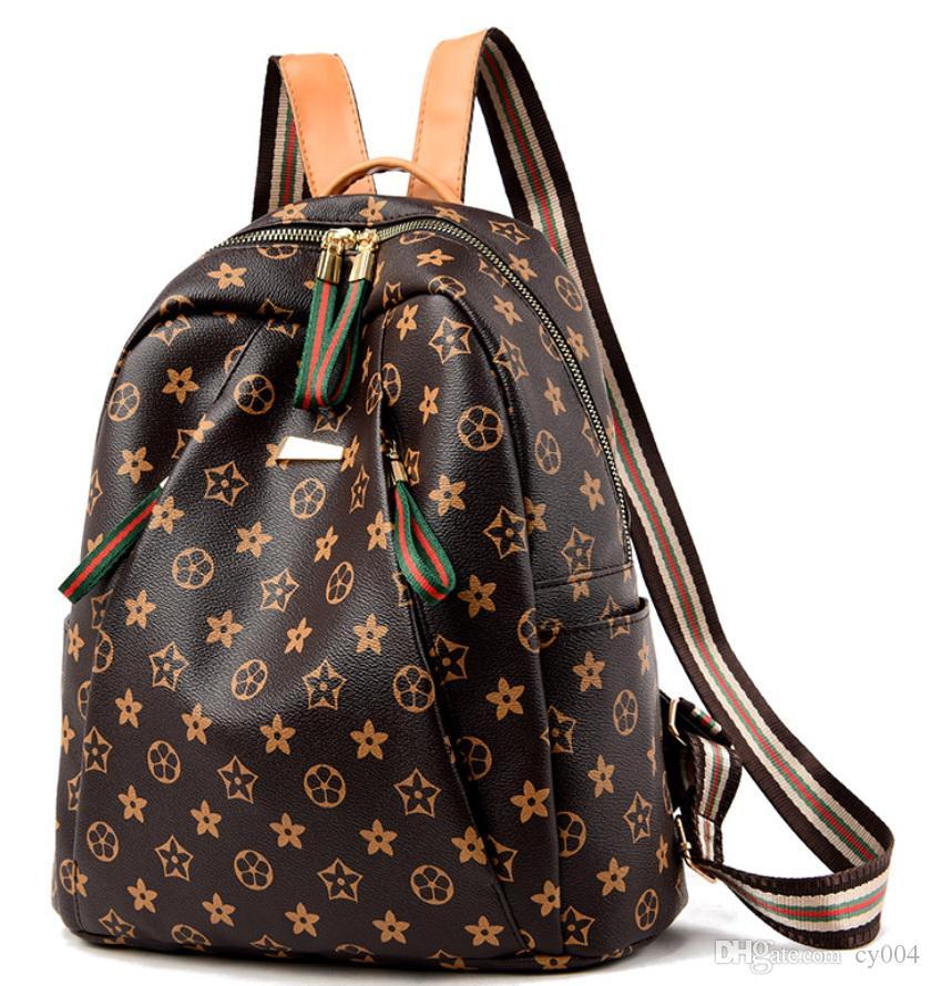 Sıcak Yeni Marka Erkekler Kadınlar Josh Sırt Çantası Moda Nakış Kaplan kafası Unisex Tasarımcı seyyar sırt çantası