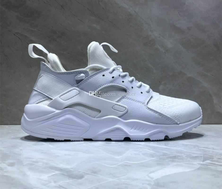 various colors 5b3f5 60a2a HUARACHE RUN ULTRA Sneakers Men 2019 all White HUARACHES Shoes Sports  Running Shoe Size Man 40-44