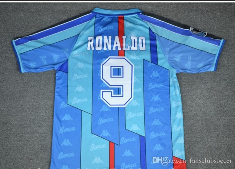 b42d05a93 2019 Thai 96 97 Ronaldo Home Red Away Blue Retro Soccer Jersey 1996 1997  Ronaldo Football Shirt From Fansclubsoccer