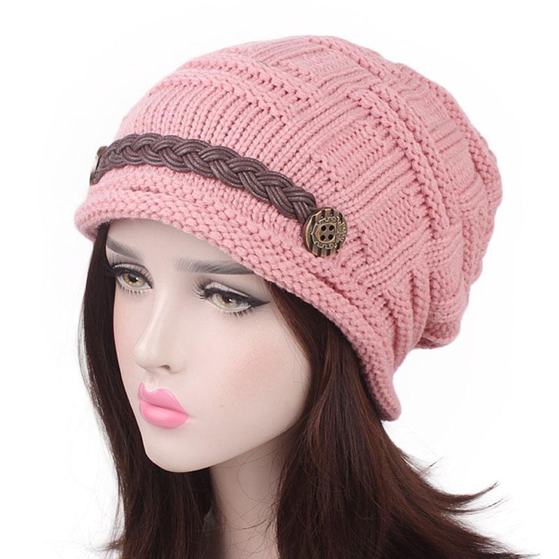 купить оптом зимние теплые шапки унисекс зимняя вязаная шапка