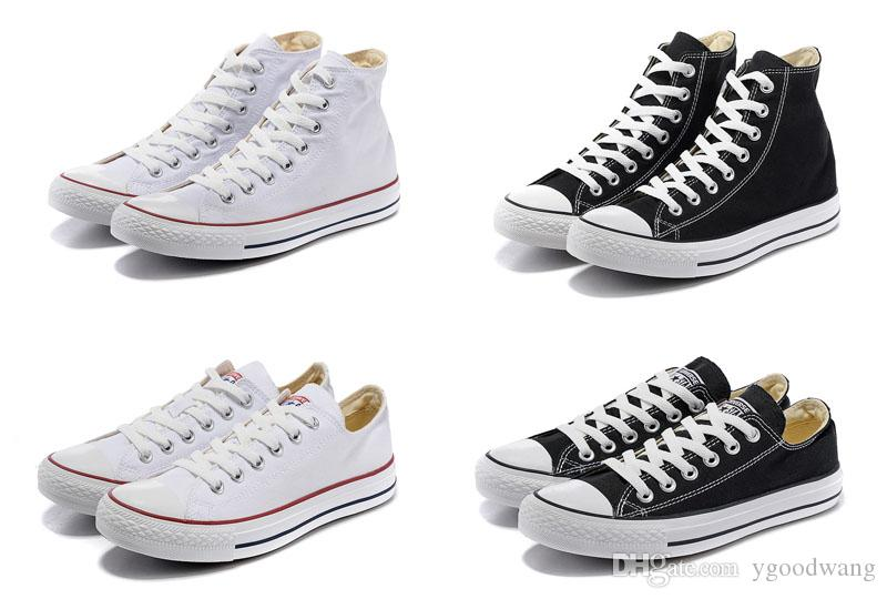 2025 New star big Size 35-46 High top Casual Shoes Low top Style sports stars Classic Canvas Shoe Sneakers Men's/Women's Canvas Shoes