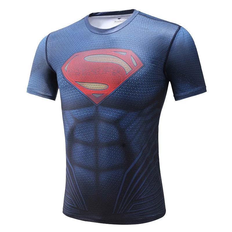 Compre 2019 NOVA Aptidão T Camisas Compressão Camisa Corrida Jaqueta 3D De Manga  Curta Top Crianças Batman Spiderman Ironman Superman Vingadores Camisetas  ... c23e556cfd772