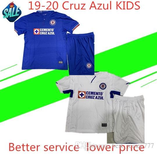fc8f953ad 2019 Cruz Azul Kids Kit Mexican Liga MX League 19 20 Cruz Azul Home Away Soccer  Jersey CAUTE CARAGLIO MONTOYA Football Shirt Camisetas De Fut From ...