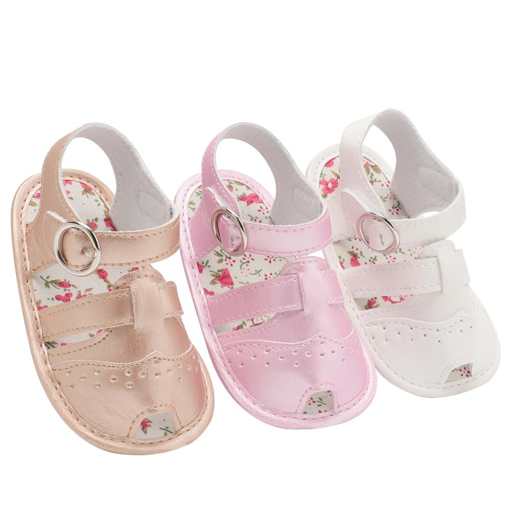 39a4dfff2 Baby Sandals PU Baby Girl Shoes 0 18 Month Newborn Hollowing Fashion Girl  Infant Boy Shoes 2018 Summer Sandals Cheap Boys Dress Shoes Toddler Black  Boots ...