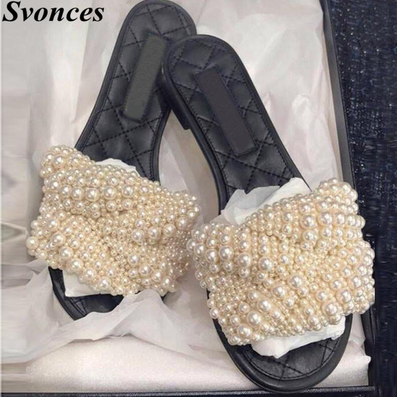 024cdc945 Svonces 2018 New Brand Shoes Slides Peep Toe Outdoor Women Slippers ...
