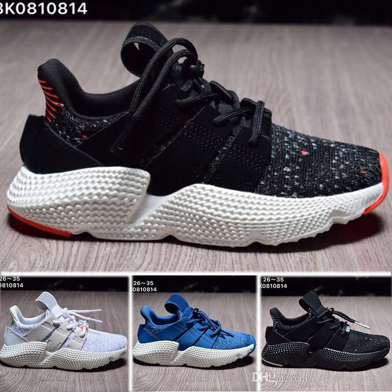 5b90400409b0 2018 New Child Infant Prophere EQT 4 4S Hedgehog Kids Running Shoes Support  Toddler Athletic Boy Girl Children Sneakers Triple Olive Sports Sports Shoes  For ...