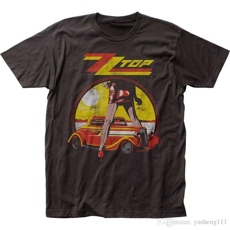 b34ae1a185680d Style Vintage Tees Funny Short Top Zz Top Rock Band O Neck Mens T Shirt  Online Buy T Shirts Tna Shirts From Jie79, $14.67| DHgate.Com
