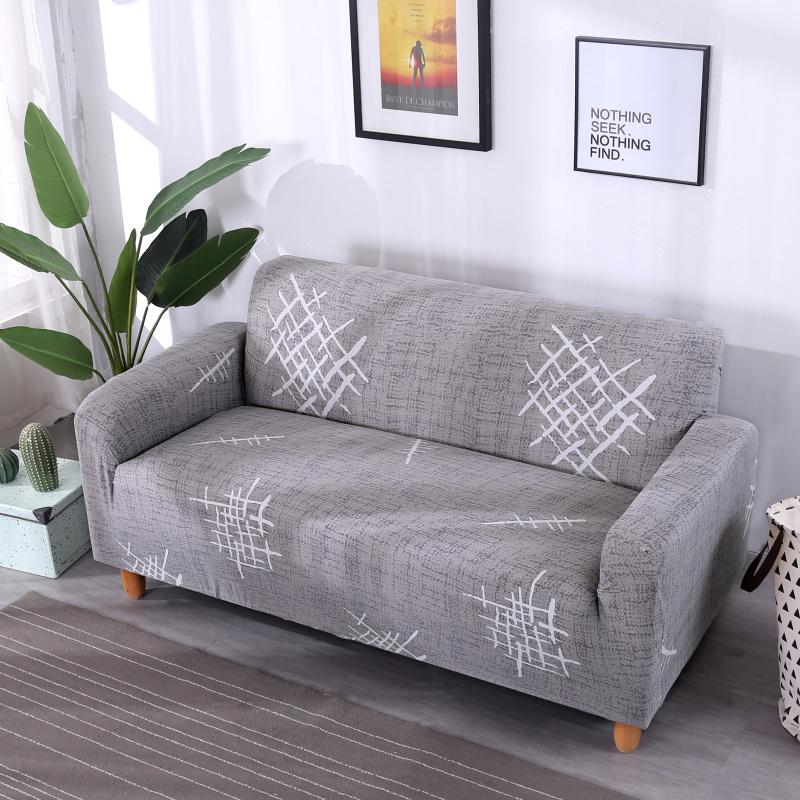 Universal 1/2/3/4 Seater Sofa Cover Big Elasticity Couch Covers Love ...