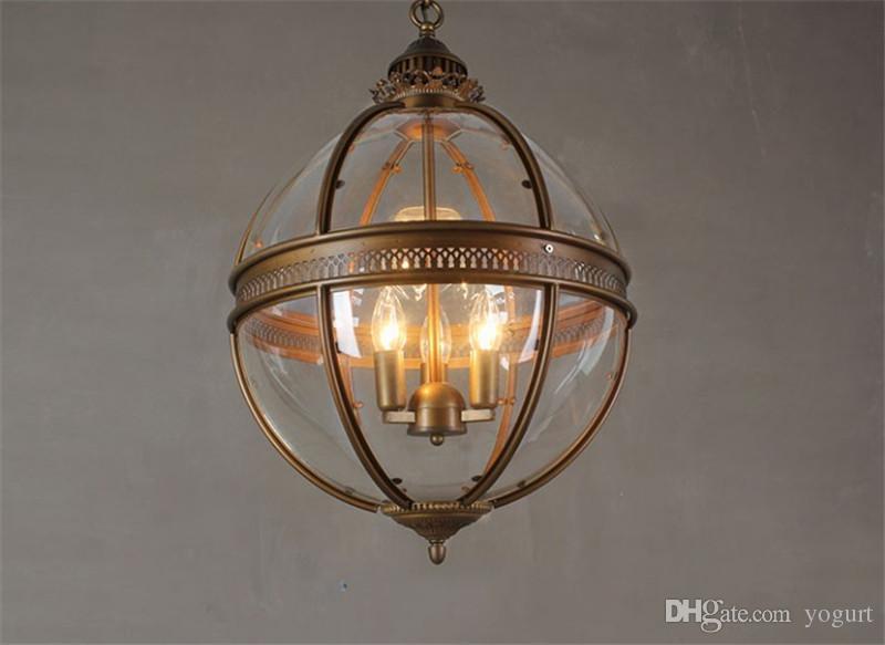 Lampade A Sospensione Vintage : Acquista lampade a sospensione globe globe vintage lampada da