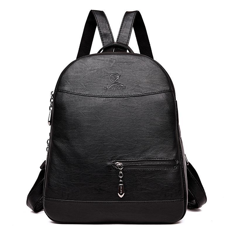 5c371cfff406 2019 New High Quality Women Leather Backpack Female School Bags For Teenage  Girls Pu Backpack Feminina Travel Backpacks Small Backpack From Starfive05