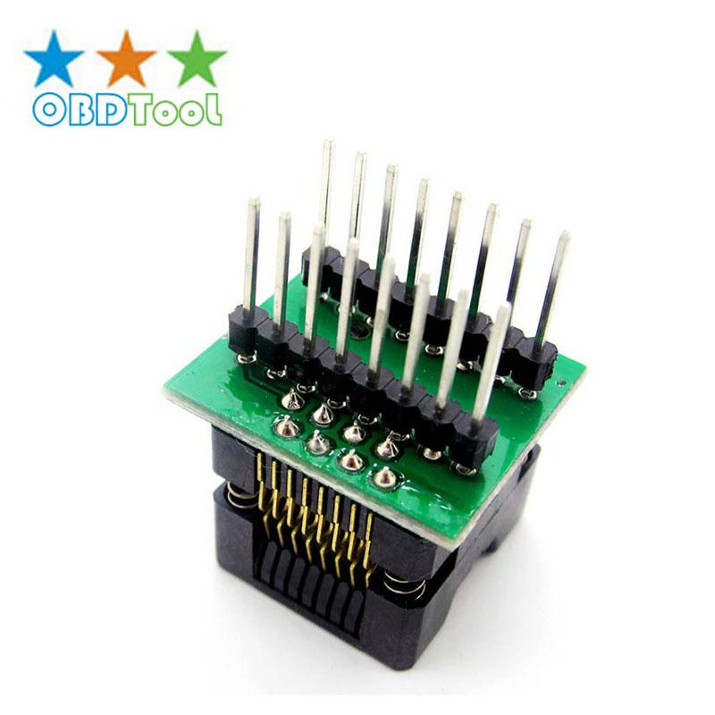 Narrow Strips SOP - 16 Straight-through IC Burning Device Adapter Conversion Bridge Chip Test Row Spacing 8.5mm JC20