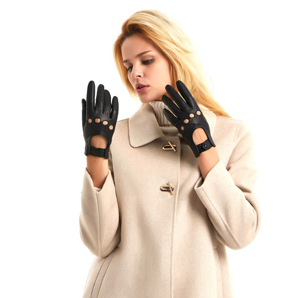 44a2dc7aa 2019 Harssidanzar Womens Touchscreen Luxury Italian Lambskin Leather  Driving Gloves Unlined Vintage Finished From Slimskirt, $24.77 | DHgate.Com