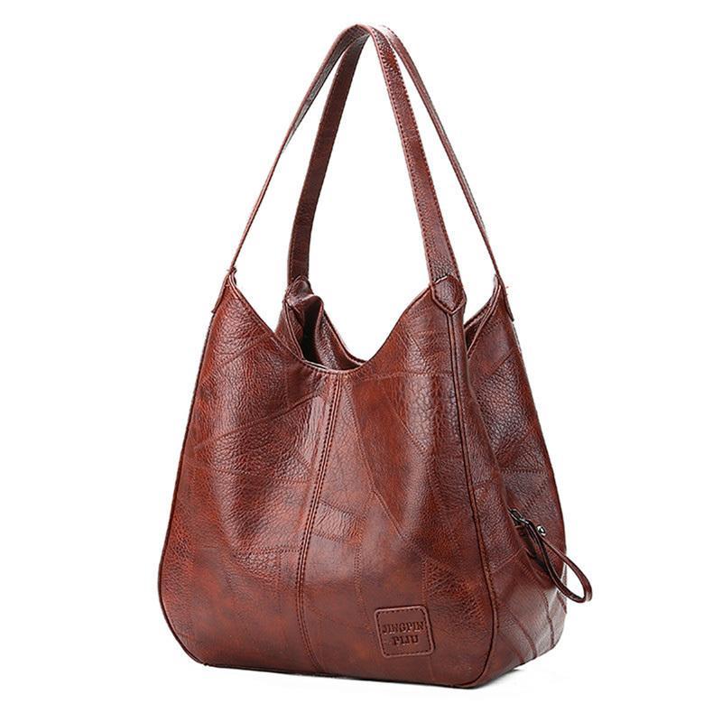 Vintage Womens Hand Bags Designers Luxury Handbags Women Shoulder Bags  Female Top Handle Bags Sac A Main Fashion Brand Handbags Leather Purses  Cheap ... edaa9e7ecb307