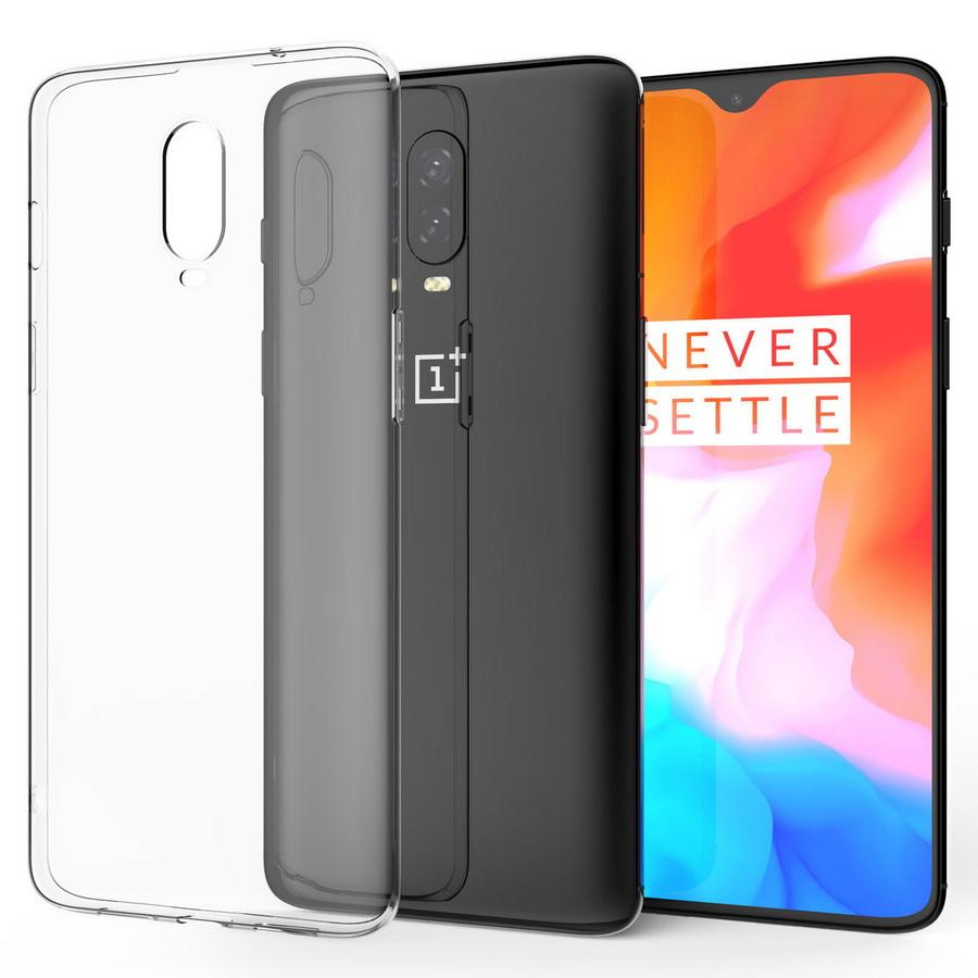 wholesale dealer e0bca a1a62 For OnePlus 6T iPhone X XR Xs MaxCase, Slim Crystal Clear Transparent Best  Silicone Gel Phone Cover UK