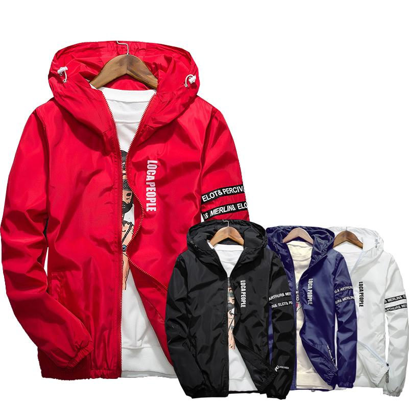 5f45a2a1c7 Mens Casual Jacket Sportswear Windbreaker Lightweight Bomber Jackets Online  with  32.0 Piece on Daiming s Store