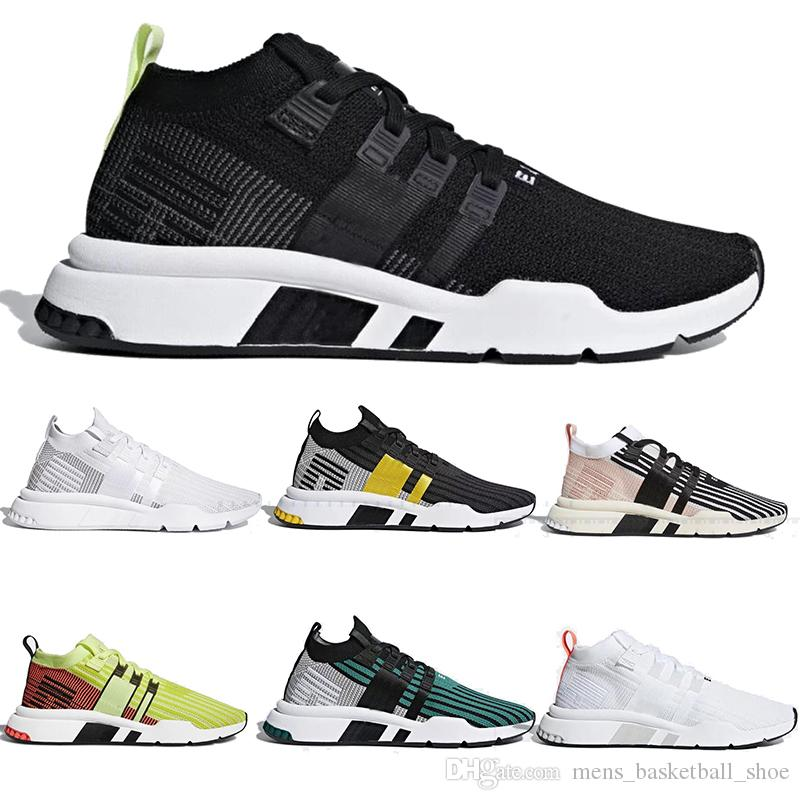 wholesale dealer a0e62 9c13b EQT Shoes Sneakers SUPPORT MID ADV PK Running Shoe For Men Women White Pink  Black Training Sport