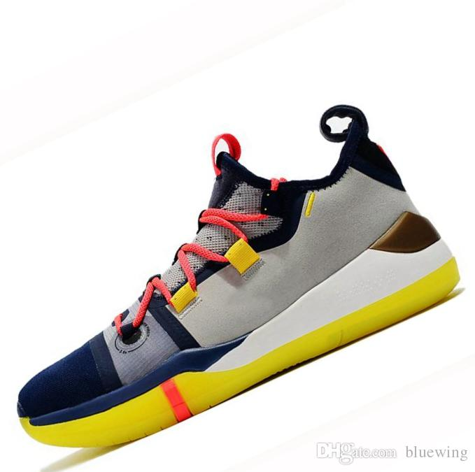 c461a0d2497b 2019 Kobe AD EP Mamba Day Sail Multicolor Men Basketball Shoes Wolf Grey  Orange For AAA+ Quality Black White Mens Trainers Sports Sneakers  Basketball Shoes ...