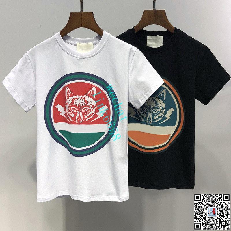 213b722acb420 Acheter Vêtements De Marque Pour Enfants Fille Bébé Garçon Imprimé De Mode  Wolf Logo Designer De Vêtements T Shirt Griffé Pour Homme Respirant Marque  De ...