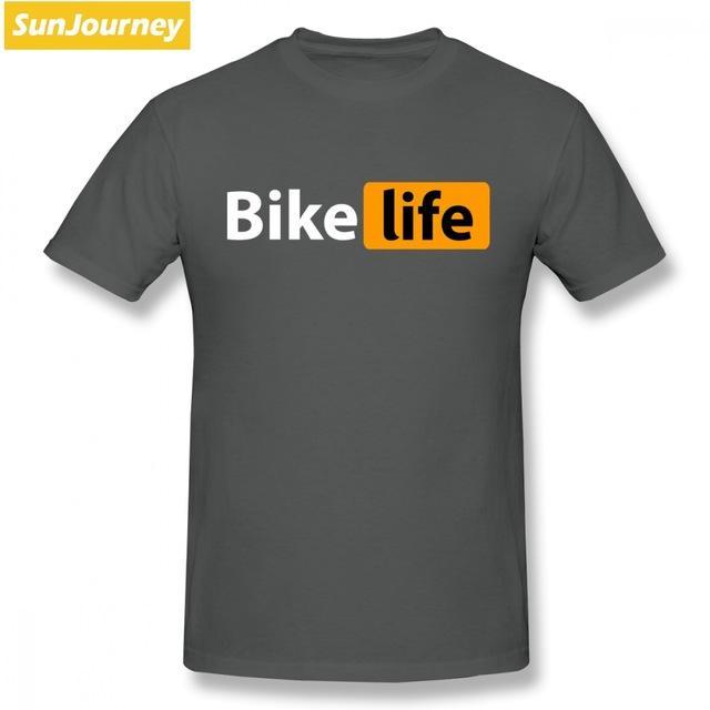 Compre Ropa De Diseñador Para Hombre Marca Polo Bicicletas Life Hub Logo Camisetas  Marca De Moda Tallas Grandes O Cuello Algodón De Manga Corta ... 1430ba53279