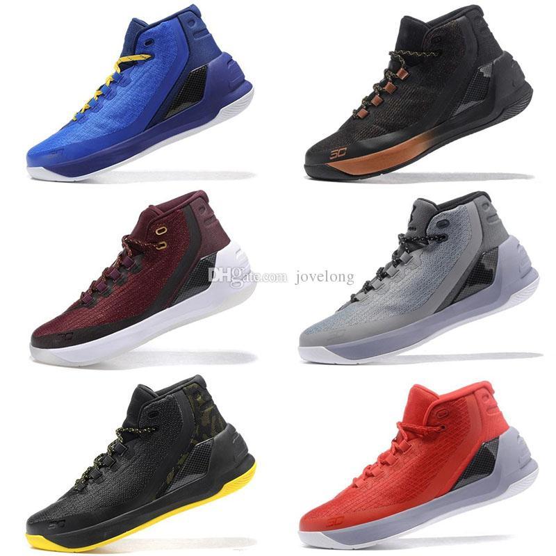 82300af8d91 Compre 2018 NUEVOS Zapatos De Diseñador Stephen Curry 3 Cero 2 Zapatillas  De Baloncesto Calzado Infantil Para Hombres Finals Zapatillas De Deporte ...