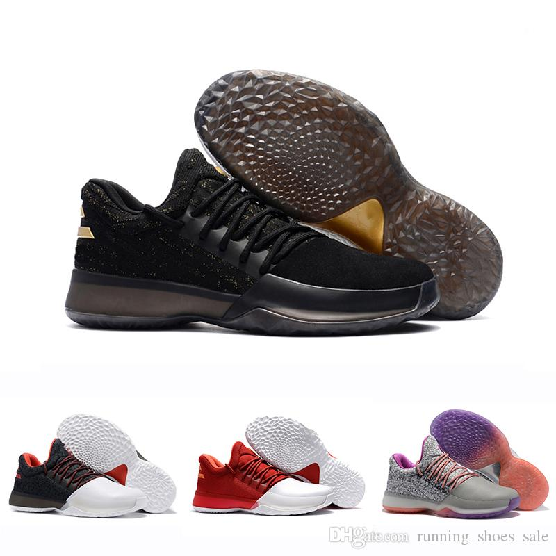 James Harden Vol.1 Black History Month White Orange Gold Mens Basketball  Shoes Harden 1s Low Trainer Sports Sneakers 40-46 Harden Vol.1 Basketball  Shoes ... 126aaea11