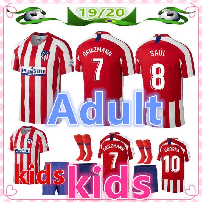 20 Felix 19 Hombre Joao De Diseñador 2019 Atletico 2020 Futbol Fútbol Camiseta M llorente Madrid Kids Niño Camisetas w8nv0mN