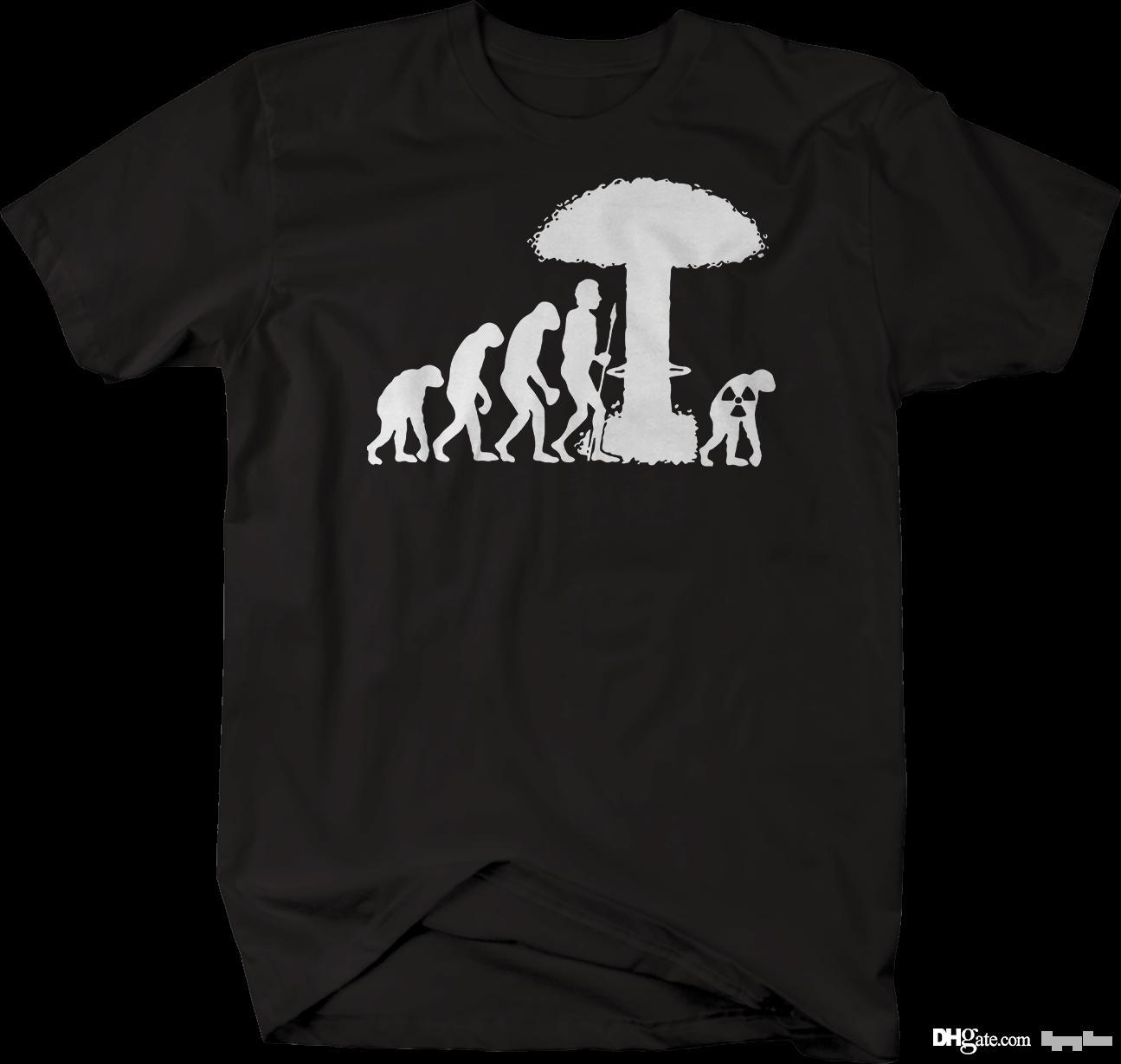 Compre Evolução Da Restauração Nuclear Da Explosão Do Homem Camiseta De  Kyngbee 3acccb5ae411e