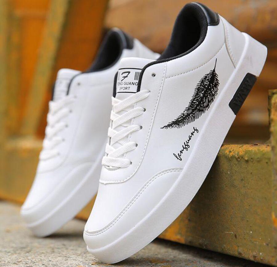 d3fbc35b82623 Großhandel Die Weißen Schuhe Des Sommers Weiße Koreanische Feder ...