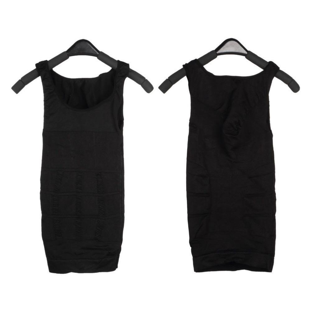 6ea45488b386 OUTAD Men Corset Body Slimming Tummy Shaper Running Vest Belly Waist Girdle  Shirt Black Shapewear Underwear Waist Girdle Shirts Online with  $38.83/Piece on ...