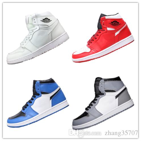 dd685b56c1e 2019 2019 New High Quality 1s Bred Leather Top Casual Basketball Originals  Yellow Athletic Shoes OG Bred Basketball Shoes 0022 From Zhang35707, ...