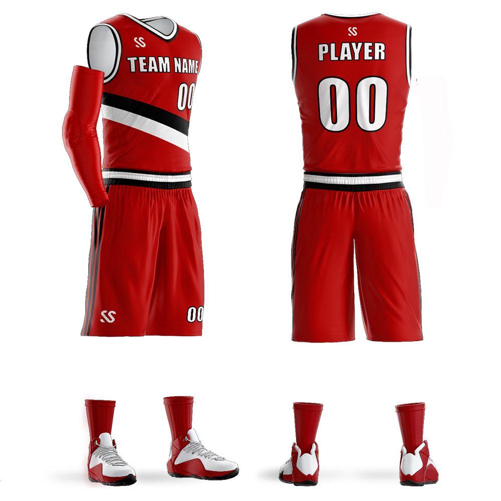 04d2f35732a2 2019 Custom Boys   Men Basketball Shirt Short