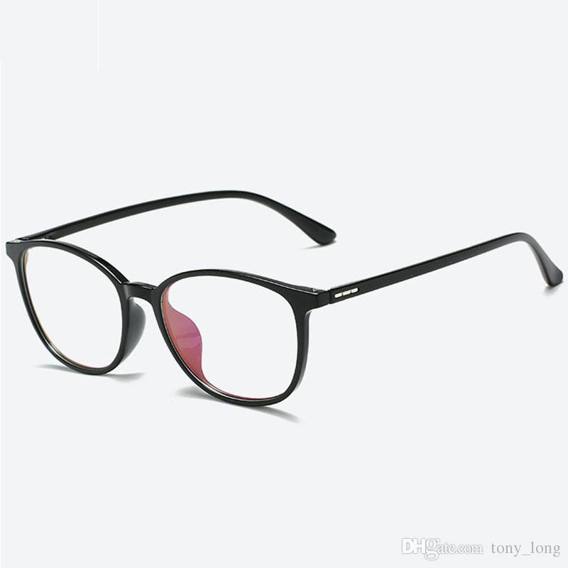 8b7d0a3b93 Compre Marcos De Anteojos Para Hombres Gafas De Ojo De Mujer Marcos De  Espectáculos Para Hombre Óptico Moda Señoras Gafas Claras Unisex Marco De  Lentes ...