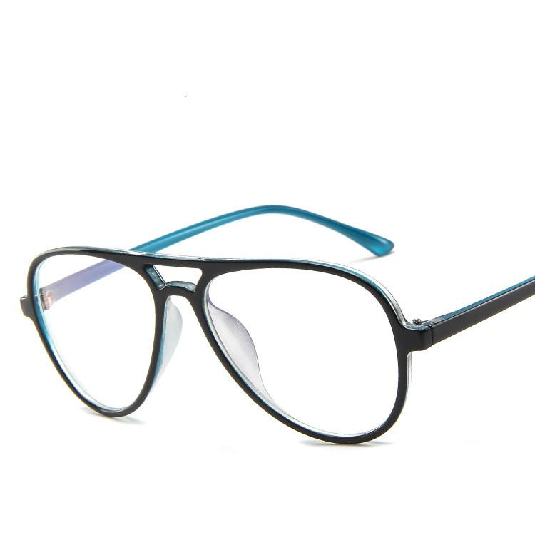 b1476270bd3 Korean Pilot Double-beam Ultralight Spectacle Optical Glasses Frame ...
