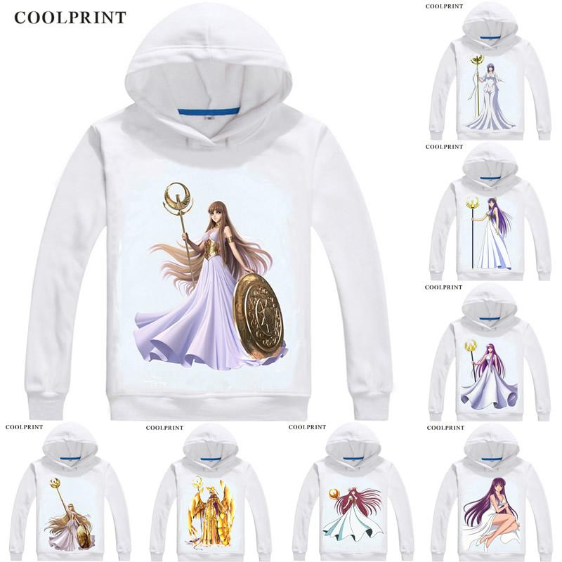 Saori Kido Saori Princess Sienna Mens Hoodies Saint Seiya Knights of the  Zodiac Men Sweatshirt Streetwear Anime Hoodie Printed Long Hooded