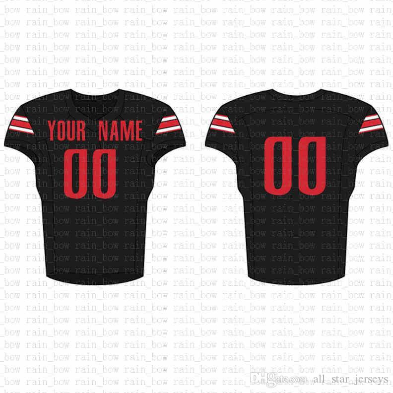 2019 New Custom Football Jersey High quality Mens free shipping Embroidery Logos 100% Stitched top sale D17