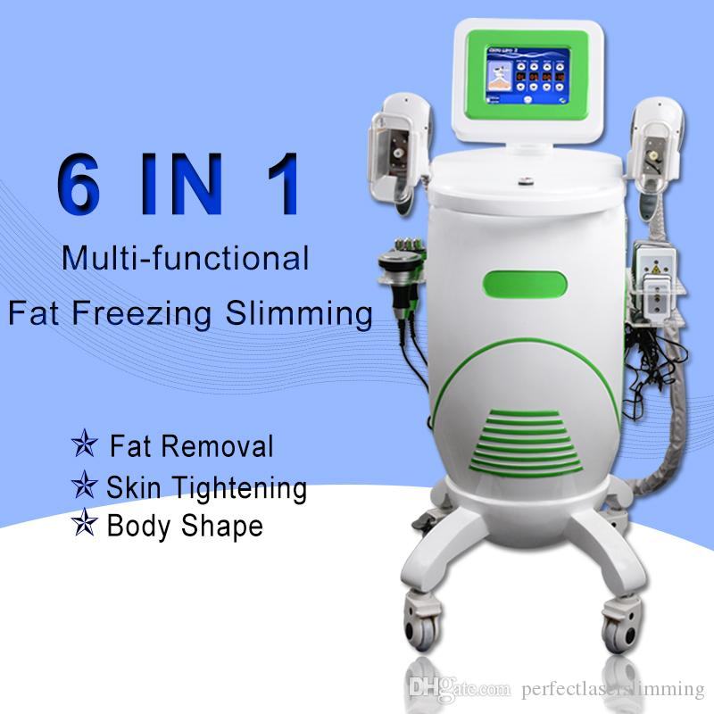 cryolipolysis fat freeze cryotherapy professional machine radio frequency lipo laser machine 40k cavitation wrinkle removal machine