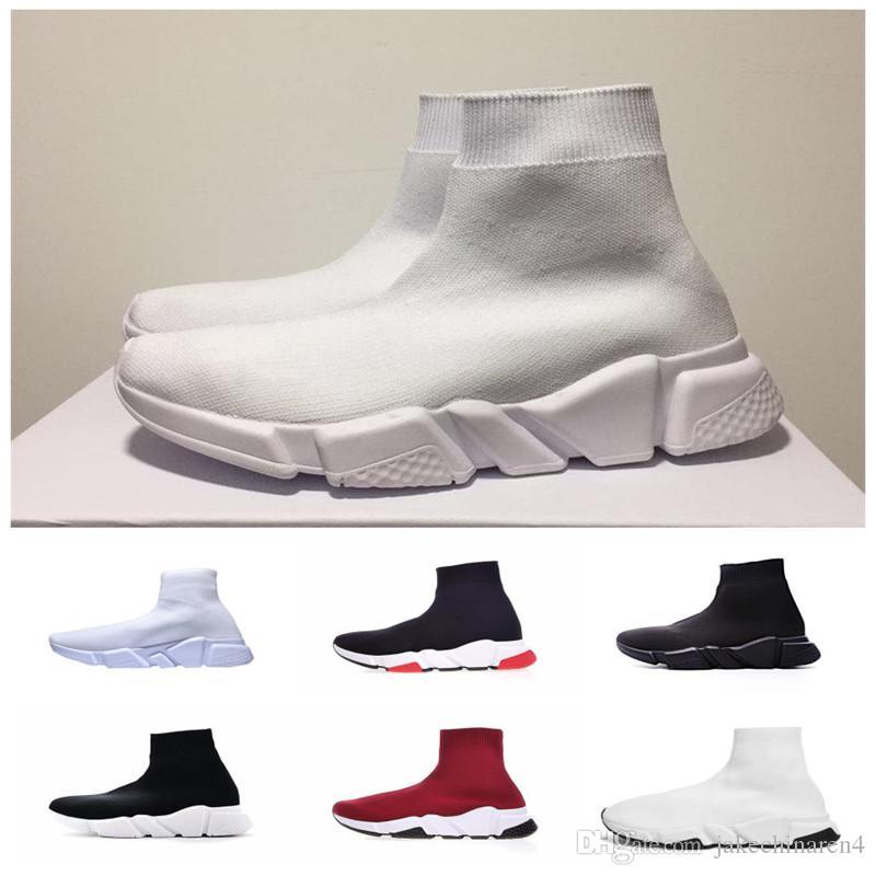Balenciaga Nouvelle Chaussette 2019 Acheter S Chaussures Triple SzpqUMV