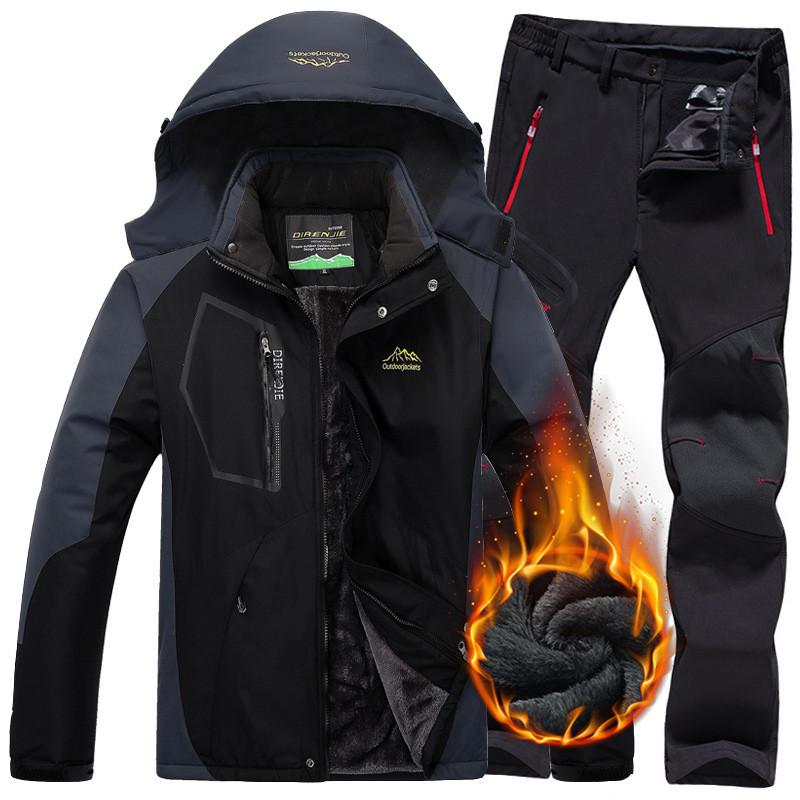 da impermeabili uomo snowboard termici da sci campeggio in esterno da trekking trekking pile da Sci da Giacche invernali da Pantaloni Pantaloni Acquista da odrCxBe